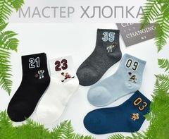 Носки для мальчиков  ( 5 пар) арт. DА7004(р. 1-3 )