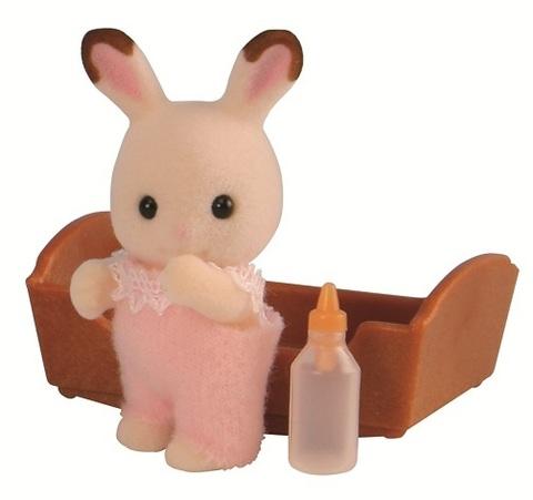 Малыш шоколадный кролик Sylvanian families арт. 5062 (3410)