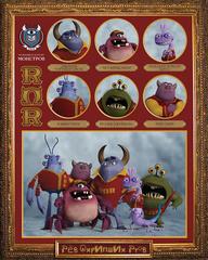 Monsters University Mini Bean ROR Plush