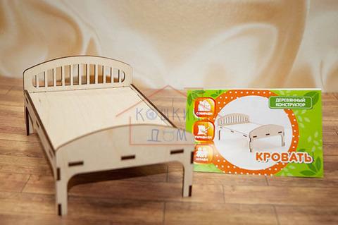 Деревянная игрушечная кроватка Graver Master Kids