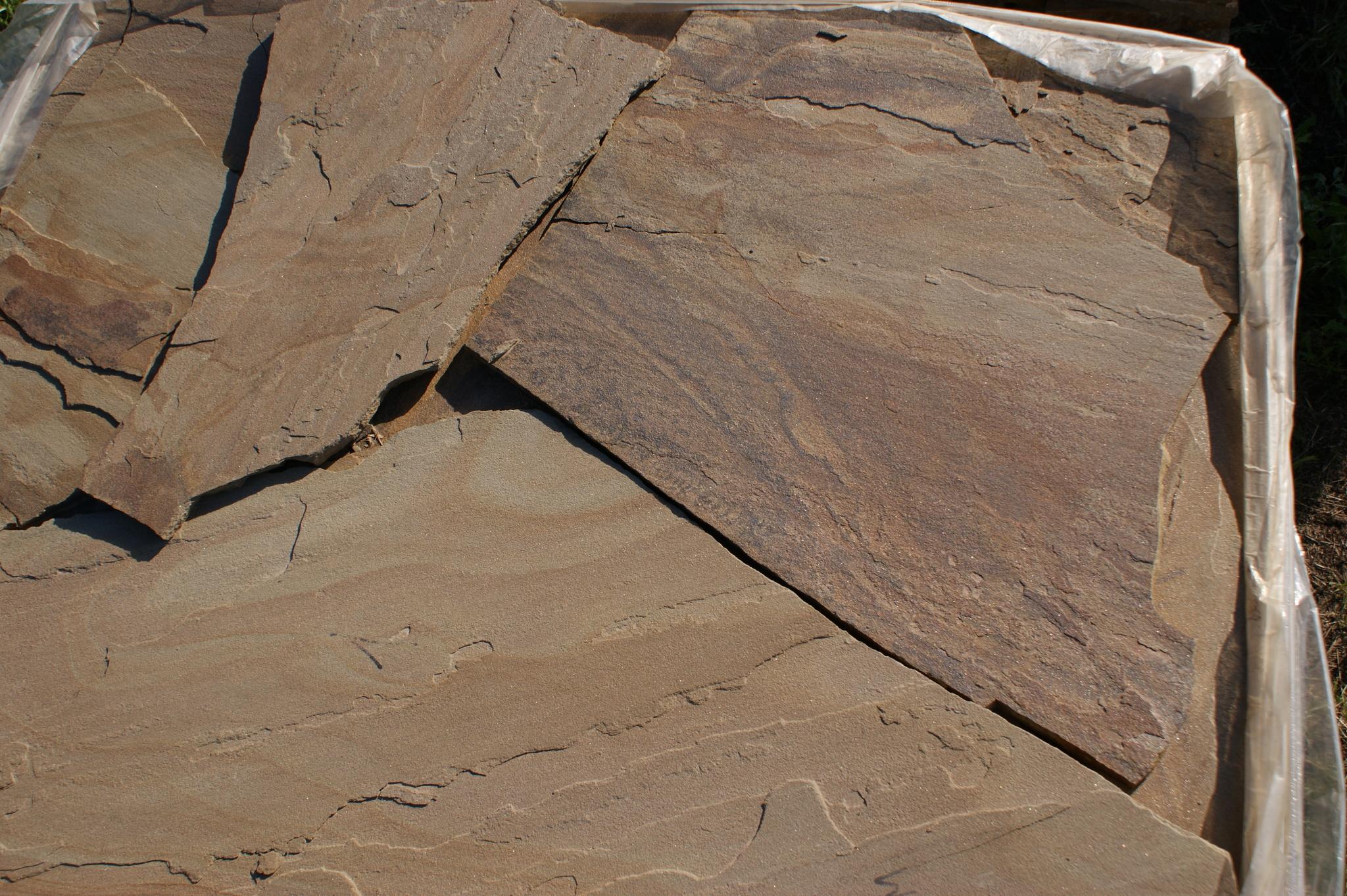 Песчаник плитняк Болотный образец