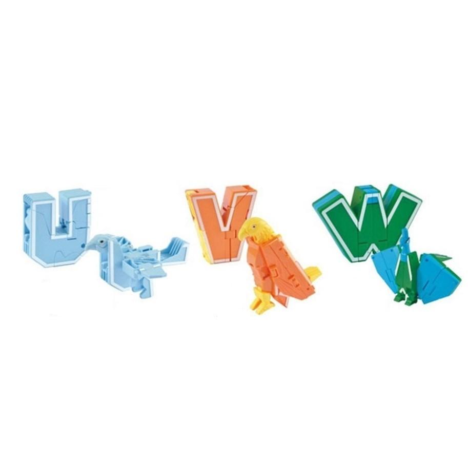 Робот-орлан: трансботы Lingvo Zoo 1 Toy (буквы английские U V W)