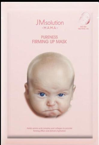 JMsolution Тканевая маска омолаживающая для будущих мам MAMA PURENESS FIRMING UP MASK, 30 мл.