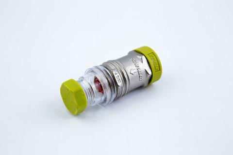 Гидромат сброса избыточного давления ХВС/ГВС на 8 бар 3/4 НР-1/2 ВР  150 с*