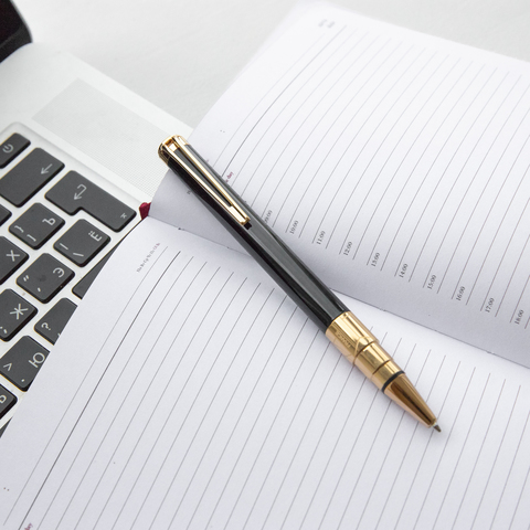 Шариковая ручка Waterman Perspective, цвет: Black GT