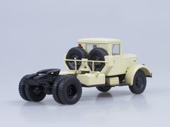 MAZ-200V road tractor beige AutoHistory 1:43