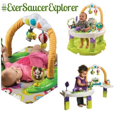 Игровой центр Evenflo ExerSaucer World Explorer напрокат
