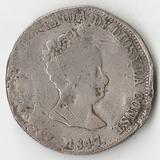 1847 SR1922 Испания 4 реала Ag-900
