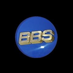 Крышка центрального отверстия BBS Forged Line 56.0 мм gold/blue (56.24.203)