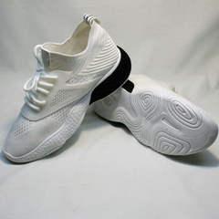 Легкие кроссовки повседневные женские El Passo KY-5 White.