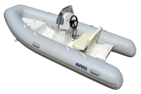 Лодка РИБ с жестким дном BRIG F400L