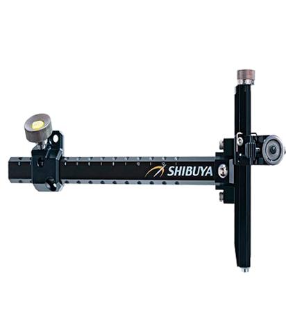 Прицел для лука спортивного Shibuya Sight 485-9 Ultima II RC Recurve Carbon Black