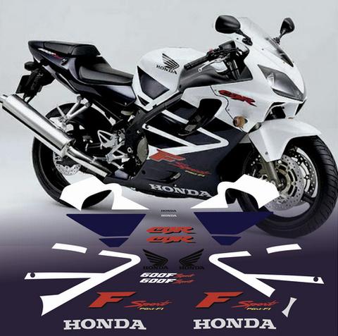 Набор виниловых наклеек на мотоцикл HONDA CBR 600 F4 SPORT 2001
