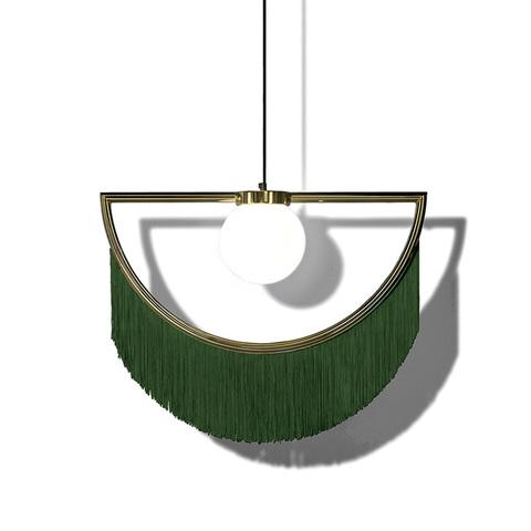 Подвесной светильник копия Wink by Houtique (зеленый)