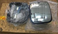 Маленькое зеркало на МАН левая сторона  Зеркало дополнительное ручная регулировка с подогревом левое MAN TGL|TGA  Широкоугольное зеркало MAN  OEM MAN - 81637306510; 81637306512