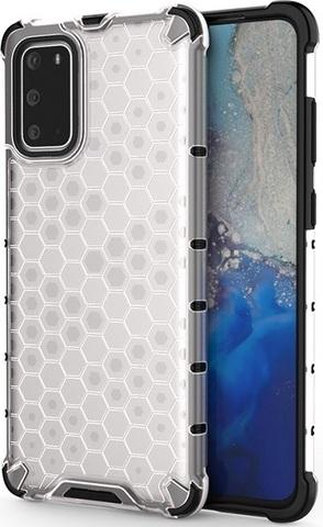Чехол на Samsung Galaxy S20 прозрачный от Caseport, серия Honey