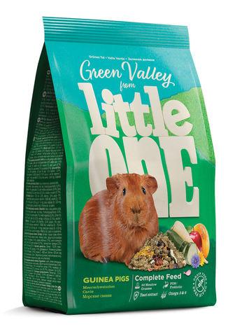 Little One Green Valley корм для морских свинок из разнотравья 750г