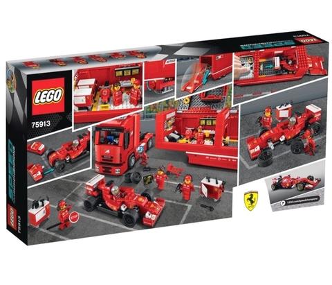 LEGO Speed Champions: F14 T и Scuderia Ferrari 75913 — F14 T & Scuderia Ferrari Truck  — Лего Спид чампионс Чемпионы скорости