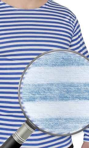 Тельняшка х/б Лето кулирка голубая полоса