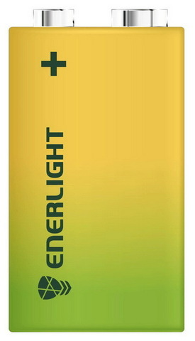 Батарейки Enerlight Super Power 6F22, 9V крона (1/12)
