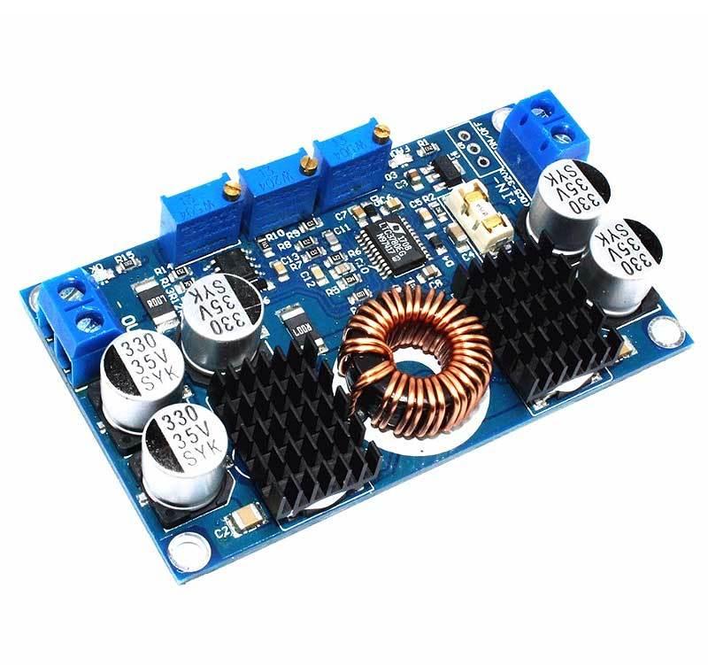 Модуль RP076. Преобразователь понижающий DC-DC на микросхеме LTC3780