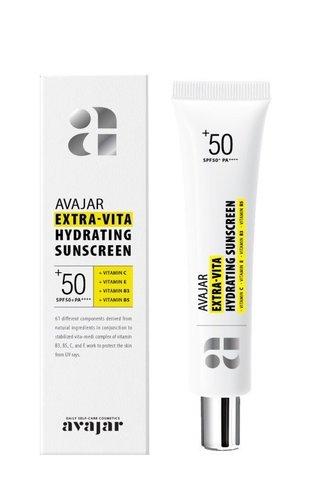 AVAJAR   Увлажняющий крем-экран с SPF фактором 50+ / Extra-vita Hydrating SunScreen, (45 мл)