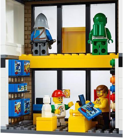 LEGO City: Городская площадь 60097 — City Square — Лего Сити Город