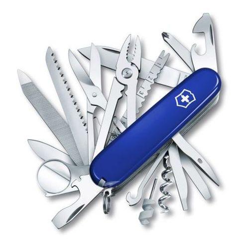Нож перочинный Victorinox SwissChamp (1.6795.2R) 91мм 33функций синий