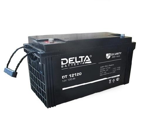 DT 12120 аккумулятор 12В/120Ач Delta