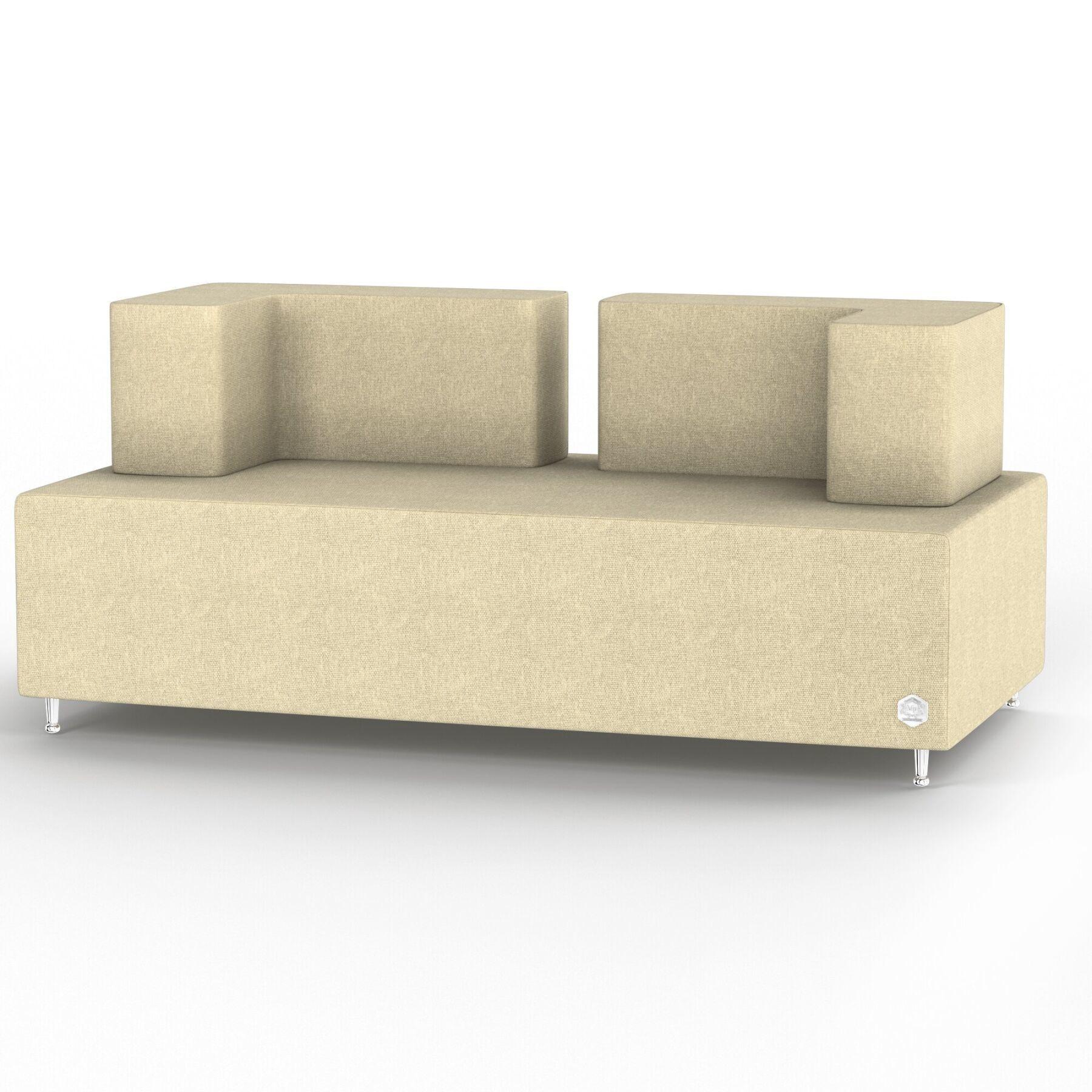 Двухместный диван KULIK SYSTEM BASE Ткань Целый