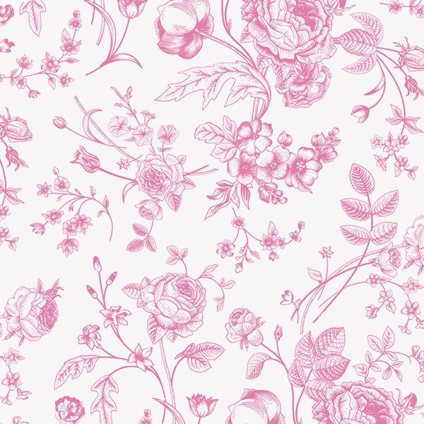 Этиклейка Розовые пионы