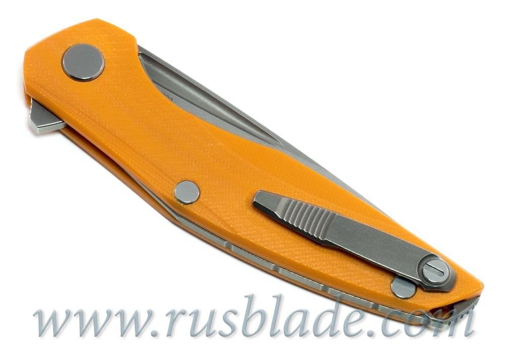 Shirogorov 111 M390 G10 orange 3D MRBS