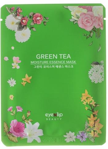 Тканевая маска для лица с экстрактом Зеленого чая Eyenlip Green Tea Moisture Essence Mask