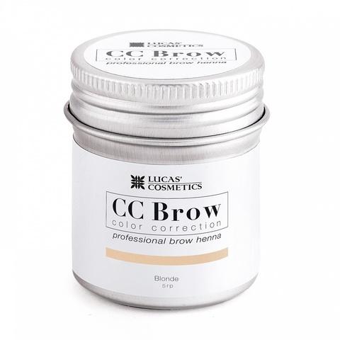 Хна для бровей CC Brow в баночке, 5 гр. Цвет русый