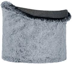 Модный шарф-труба Buff Neckwarmer Knitted Comfort Kesha Grey