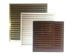 Решетка металлическая коричневая 400х400мм 4040РМк
