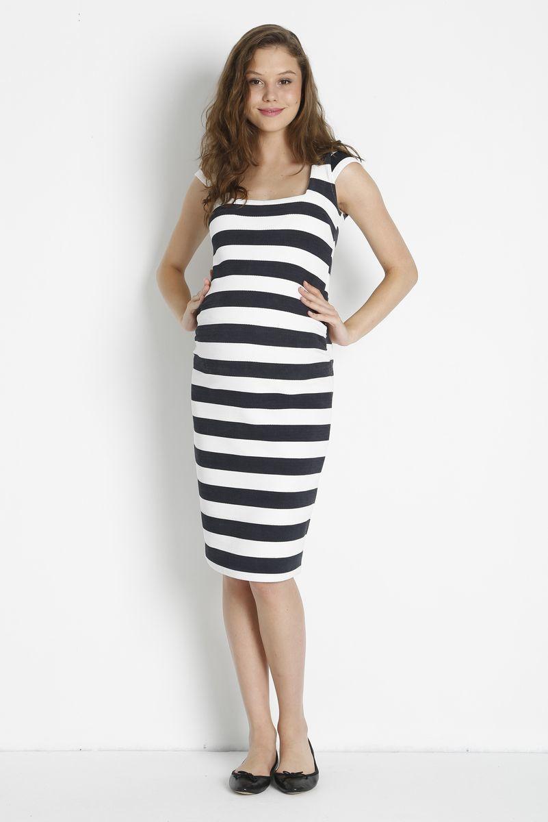 Фото платье для беременных и кормящих GEBE от магазина СкороМама, белый, размеры.