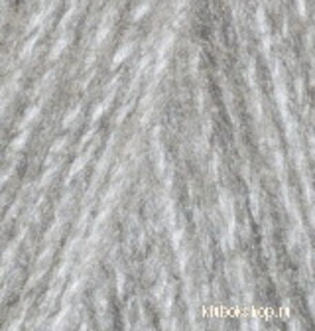 Alize Angora REAL 40 PLUS 614 серый меланж, фото