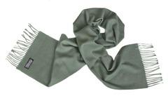 Шерстяной шарф серый 00160