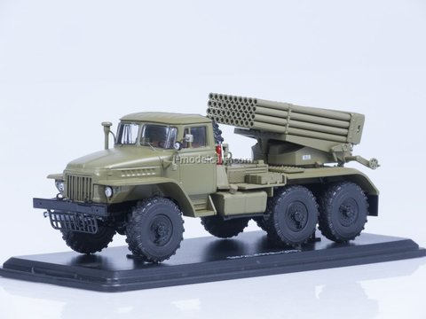 Ural-375 BM-21 Grad khaki 1:43 Start Scale Models (SSM)