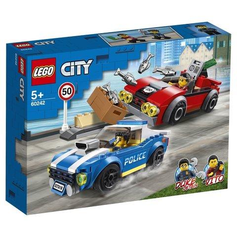LEGO City: Арест на шоссе 60242 — Police Highway Arrest — Лего Сити Город