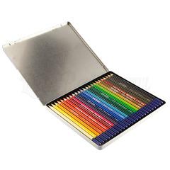 Набор из 24 цветных карандашей Van Gogh