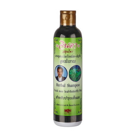 Тайский шампунь от выпадения волос Jinda Herbal Hair Shampoo