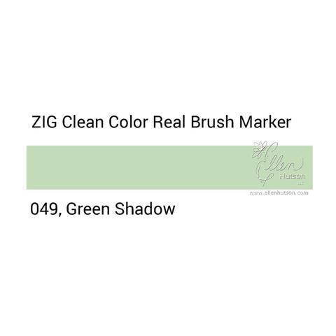 Маркер акварельный ZIG Clean Color Real Brush- штучно - 049