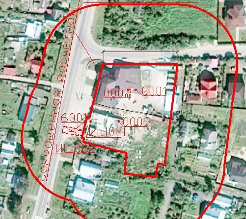 Пример СЗЗ для торгово-офисного комплекса