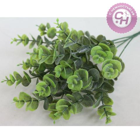 Искусственная зелень эвкалипта, 34 см.