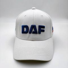 Кепка с логотипом DAF (Бейсболка ДАФ) белая