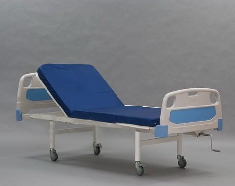 Медицинская функциональная кровать КФО-01(МЕТ) без комплектации с поднимающимся изголовьем - фото