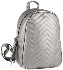 Рюкзак женский KikiFace b261 Серебро