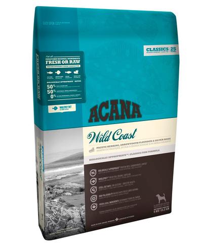 Acana Classics Wild Coast сухой корм для собак (рыба) 2 кг